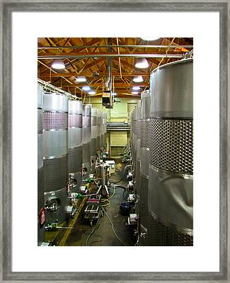Biltmore Winery Framed Print by Brian Gibson