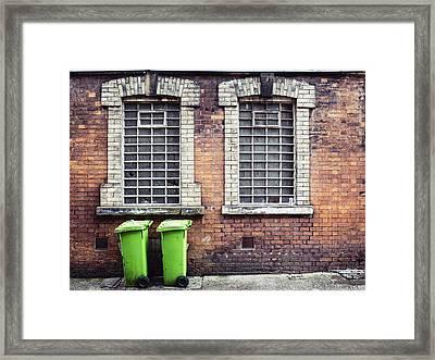 Bin Day Framed Print