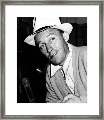 Bing Crosby - 1942 Framed Print by Mountain Dreams