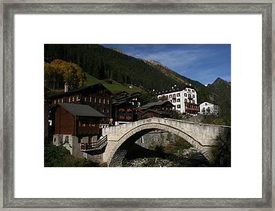 Framed Print featuring the photograph Binn by Travel Pics