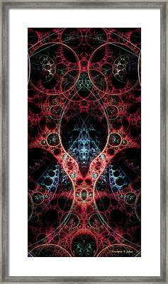 Biomechanica 2 Framed Print by Christopher Peters