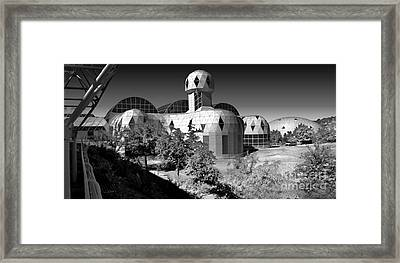 Biosphere 2 Framed Print by Gregory Dyer