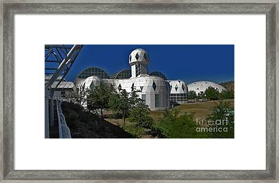 Biosphere2 Framed Print by Gregory Dyer