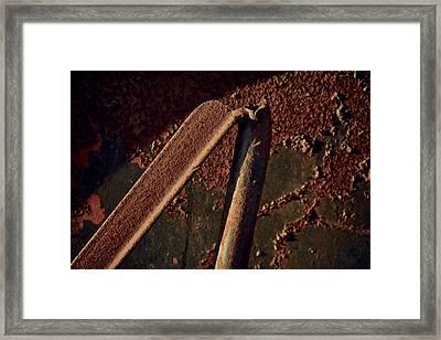 Bipod Framed Print by Odd Jeppesen