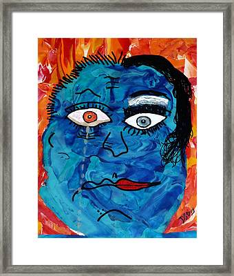 Bipolar Blues Framed Print