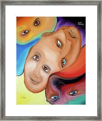 Bipolar Framed Print by J FLoRian Dunn