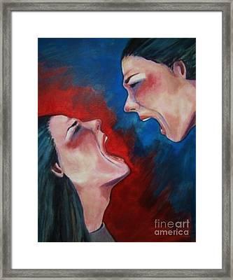 Bipolar Framed Print by Kayla Giampaolo