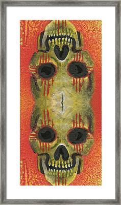Bipolar New Mexican Framed Print by KD Neeley