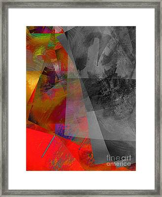 Bipolar Framed Print by Elizabeth Austin-Craig