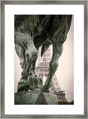 Bir Hakeim - Eiffel Framed Print by Brian Jannsen