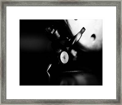 Birch Brothers Portable Phonograph 2 Framed Print by Jon Woodhams