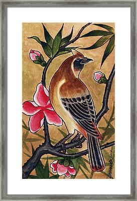 Bird Framed Print by David Shumate