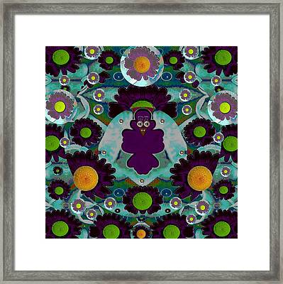 Bird Fenix Framed Print