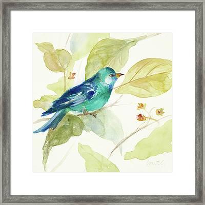 Bird In A Tree II Framed Print
