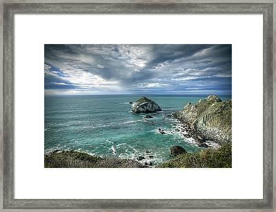 Bird Island Framed Print