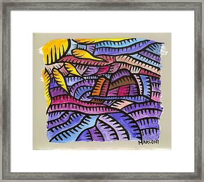 Bird Island Saipan Framed Print