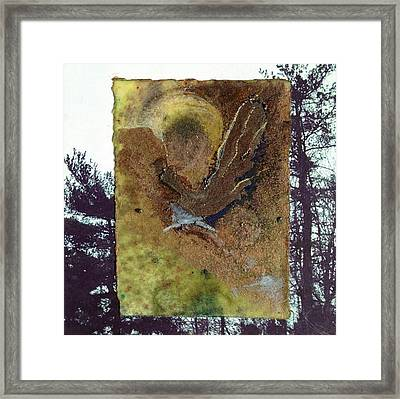 Bird Framed Print by Marie Tosto
