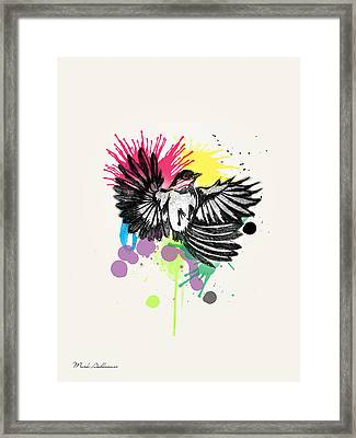 Bird Framed Print by Mark Ashkenazi