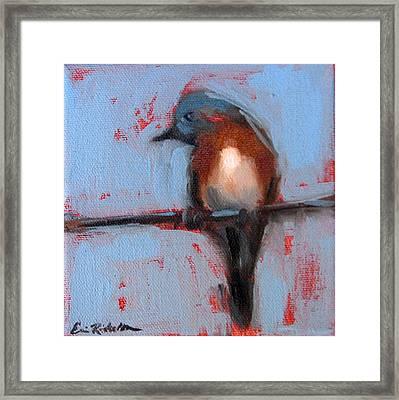 Bird On A Wire IIi Framed Print