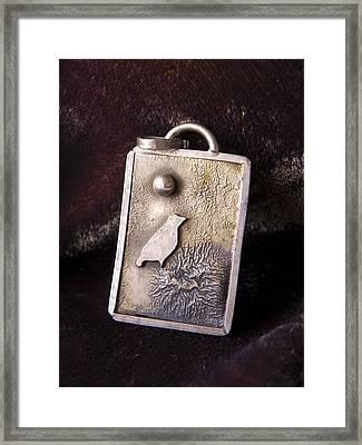 Bird On Nest Framed Print