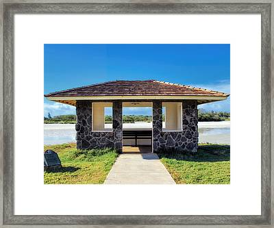 Framed Print featuring the photograph Bird Sanctuary 2 by Dawn Eshelman