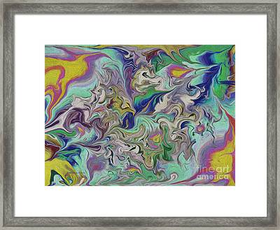 Bird Vision Framed Print by Deborah Benoit