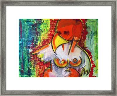 Birdens Nightmare Framed Print