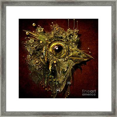 Birdmachine Framed Print