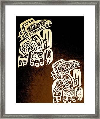 Birdmaze Framed Print by Kryztina Spence