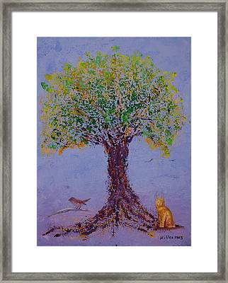 Bird's Bliss Framed Print by William Killen