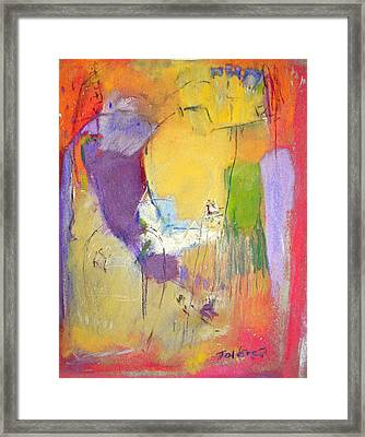 Bird's Eye View  Abstract Framed Print by Studio Tolere