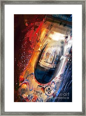 Birds Eye View To A Win Framed Print