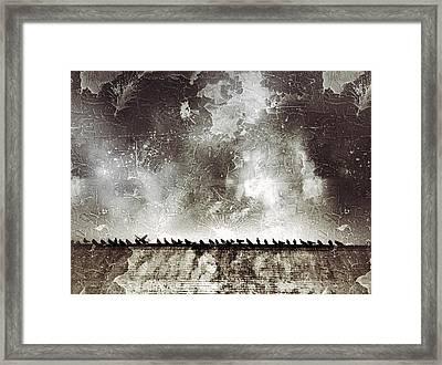 Birds Framed Print by H James Hoff