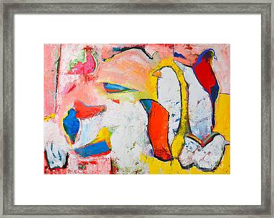 Birds In Paradise Framed Print