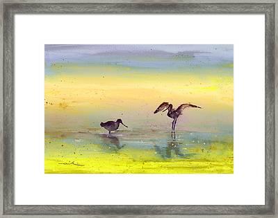Birds In The Camargue 03 Framed Print