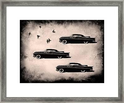 Birds Of A Feather Framed Print by Douglas Pittman