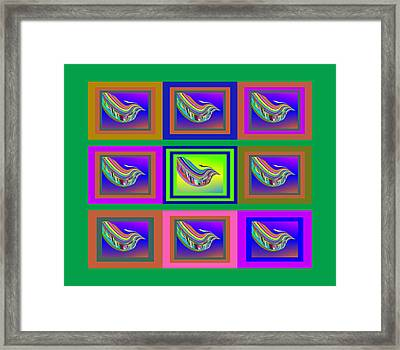Birds Of A Feather With Sbux Framed Print