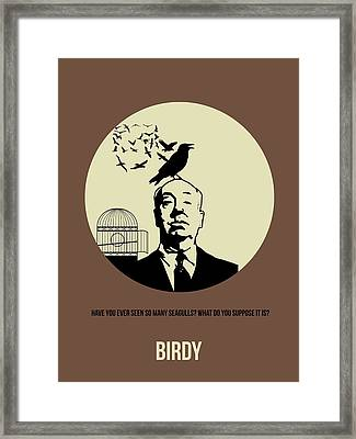 Birds Poster 1 Framed Print by Naxart Studio