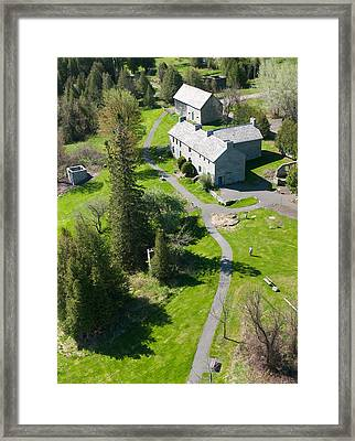 Birdseye View Pinhey's Point Ontario Framed Print by Rob Huntley
