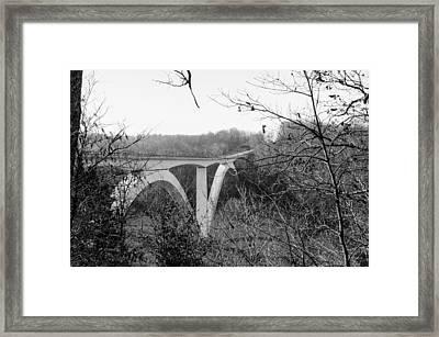 Birdsong Hollow Bridge Framed Print