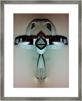 Birdybot Framed Print by Citpelo Xccx