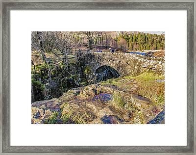 Birks Bridge Lake District Framed Print by Trevor Kersley