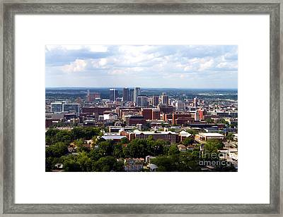Birmingham Skyline Framed Print