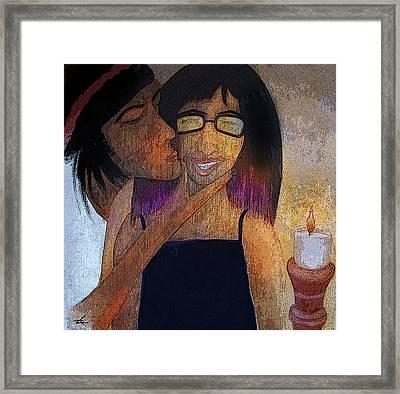 Birrthday Girl Framed Print