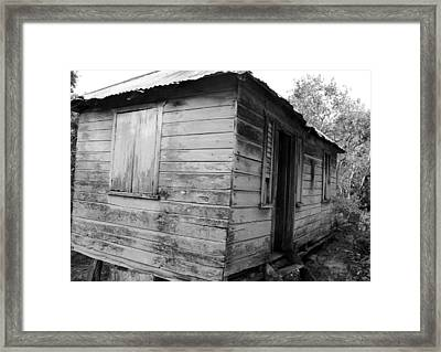 Birth Home Framed Print