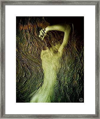 Birth Of A Dryad Framed Print by Gun Legler
