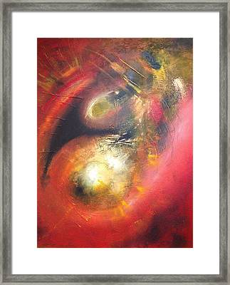 Birth Of A Planet Framed Print