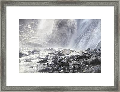Framed Print featuring the photograph Birth Of A River by Colleen Williams