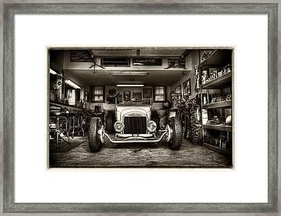Birth Of A Roadster Framed Print by Robert  FERD Frank