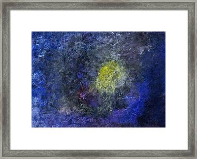Framed Print featuring the painting Birth Of A Star by Tracey Myers